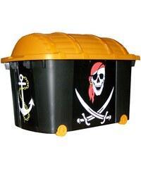 Úložný box pojízdný 57 l plastový 60x40x42 cm Pirát KAISERHOFF KO-899509