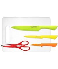 Sada nožů nepřilnavých s prkénkem 5 ks GOOD4U CS SOLINGEN CS-035006