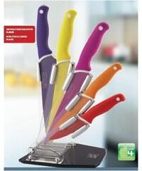 Sada nožů nepřilnavých ve stojanu 5 ks GOOD4U CS SOLINGEN CS-036225