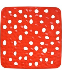 Protiskluzová předložka do sprchy Nevada červená KELA KL-22145