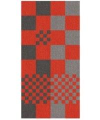 Osuška LADESSA, 100% bavlna, červená kostka 70x140cm KELA KL-22202