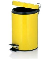Koš kosmetický AMARELO 3 l, žlutý KELA KL-22579