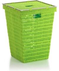 Koš na prádlo NOBLESSE PP plast, světle zelený 40x40x53 cm KELA KL-22607