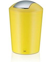 Odpadkový koš MARTA 5L plast, žlutý KELA KL-22774