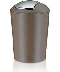 Odpadkový koš MARTA 5L plast, šedohnědá KELA KL-22775