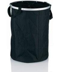 Koš na prádlo NERA polyester, černá pr. 38cm x v. 53,5cm KELA KL-22951