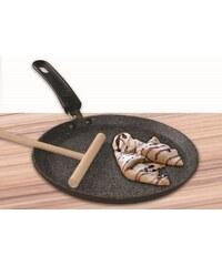 Pánev na palačinky s mramorovým povrchem 24 cm STONE STONELINE WX-12981