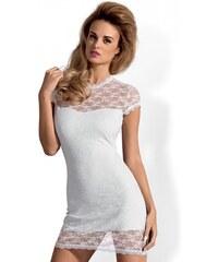 OBSESSIVE Dámské šaty Dressita bílé