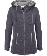 bpc bonprix collection Strickfleece-Jacke langarm in grau für Damen von bonprix
