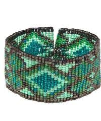 Smitten NAVAJO Armband green