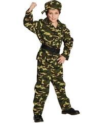 Rubies Vojenské maskáče - voják - 116