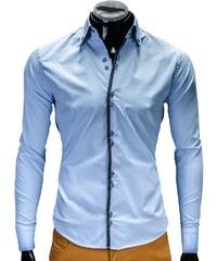 Košile pánská Ombre K87 světle modrá