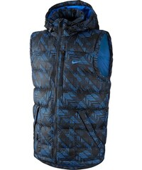 Nike NIKE ALLIANCE 550 PRINTED HOODED modrá S