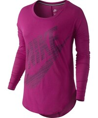 Nike SIGNAL LS TEE fialová L