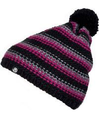 Meatfly Zimní čepice Lori D - Black/Pink MF2014000618