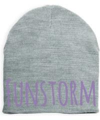 Funstorm Oboustranná zimní čepice Revi Grey BU-05609-19