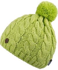 CAPU Zimní čepice s bambulí Green 18404-E