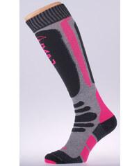 CAPU Lyžařské podkolenky Pink C007-04