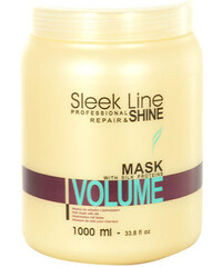 Stapiz Sleek Line Volume Mask 1000ml Maska na vlasy W Pro jemné a suché vlasy