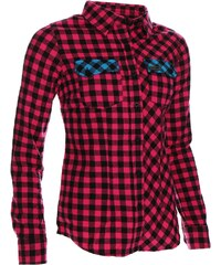 Košile Woox Flannel Magenta dám.