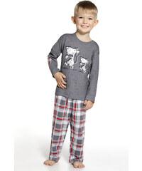"""Chlapecké pyžamo Cornette """"Rats"""" YOUNG, KIDS, šedá"""