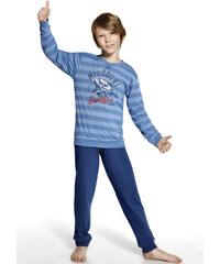 "Chlapecké pyžamo Cornette ""Missouri"" YOUNG, modrá"