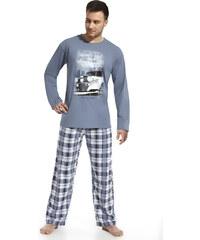 """Pánské pyžamo Cornette """"New & old"""" 124/41, modrá"""