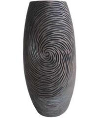 StarDeco Váza v přírodních tmavých barvách 35 cm