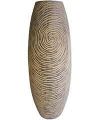 StarDeco Váza v přírodních barvách 45 cm