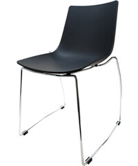 StarDeco Černá židle CR40-B+CR902