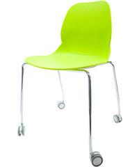 StarDeco Zelená židle CR41-G+CR905