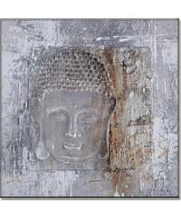 StarDeco BUDDHA - ručně malovaný