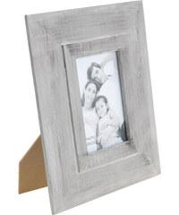 StarDeco Dřevěný foto rámeček - šedý 23x28cm