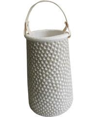 StarDeco Váza - cement 24,5 cm