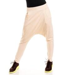 Dámské teplákové harémky Fashion - světle béžové