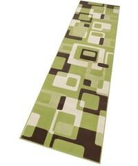 HANSE HOME Läufer Tiznit Retro Design abstrakt gewebt grün 11 (B/L: 80x200 cm),12 (B/L: 80x300 cm)