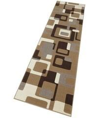 HANSE HOME Läufer Tiznit Retro Design abstrakt gewebt braun 11 (B/L: 80x200 cm),12 (B/L: 80x300 cm)