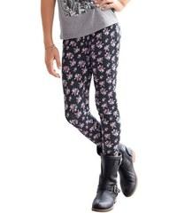 Arizona Leggings mit Blumen-Muster für Mädchen schwarz 152/158,164/170,176/182