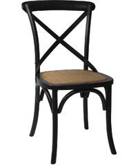 IB LAURSEN Dřevěná židle Provence Black