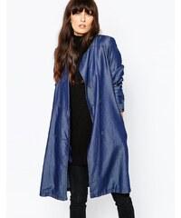 Vero Moda - Veste légère en lyocell - Bleu marine