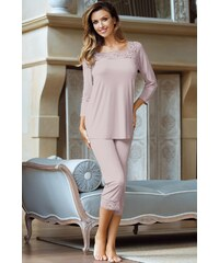 Dámské pyžamo Babella Victoria, růžová