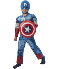 Rubies Captain America Deluxe Child - LD 7 - 8 roků