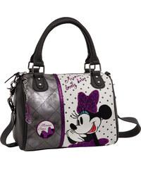 Joummabags Luxusní kabelka do ruky Minnie Mašle 25x23x12 cm
