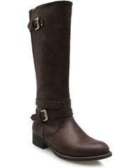 Miso Mai High Boots Brown