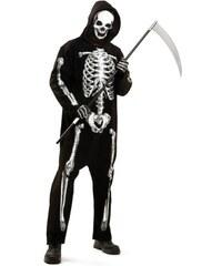 Kostým Zombie kostra Velikost M/L 50-52