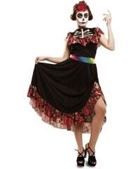 Kostým Den mrtvých tanečnice Velikost M/L 42-44