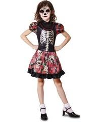 Dětský kostým Kostlivka Pro věk (roků) 10-12