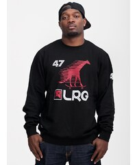 LRG Skate Giraffe Sport Crewneck Black
