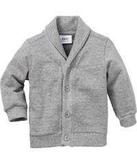 bpc bonprix collection Baby Sweatjacke, Gr. 56/62-104/110 langarm in grau für Herren von bonprix