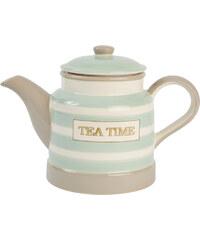 T&G Woodware Čajová konvička Mint Stripe, 1l